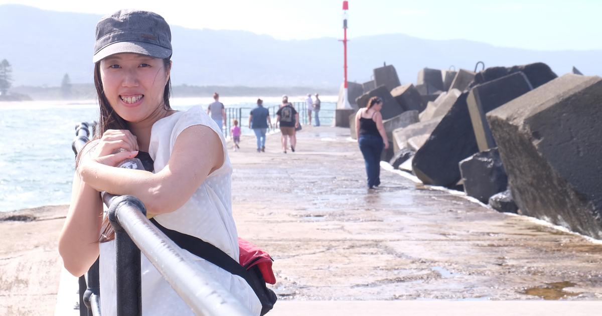 オーストラリアのシドニーに2年5ヶ月、大学院留学されていた小林立依