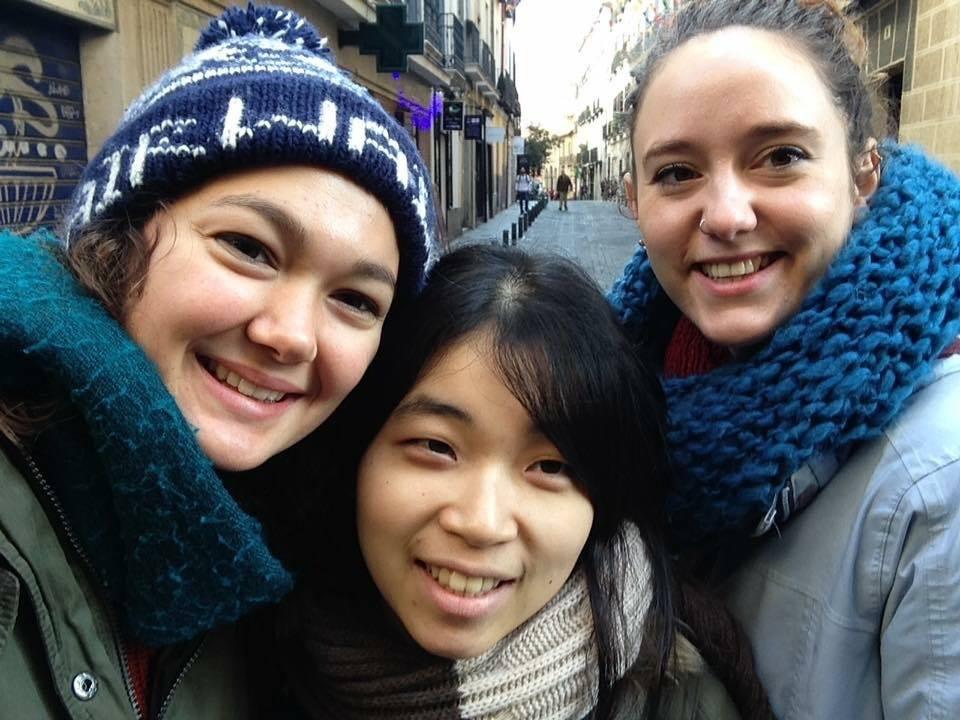 スペインのマドリードで、卒業した友達(英語ネイティブでスペイン現地就職)と再会した時