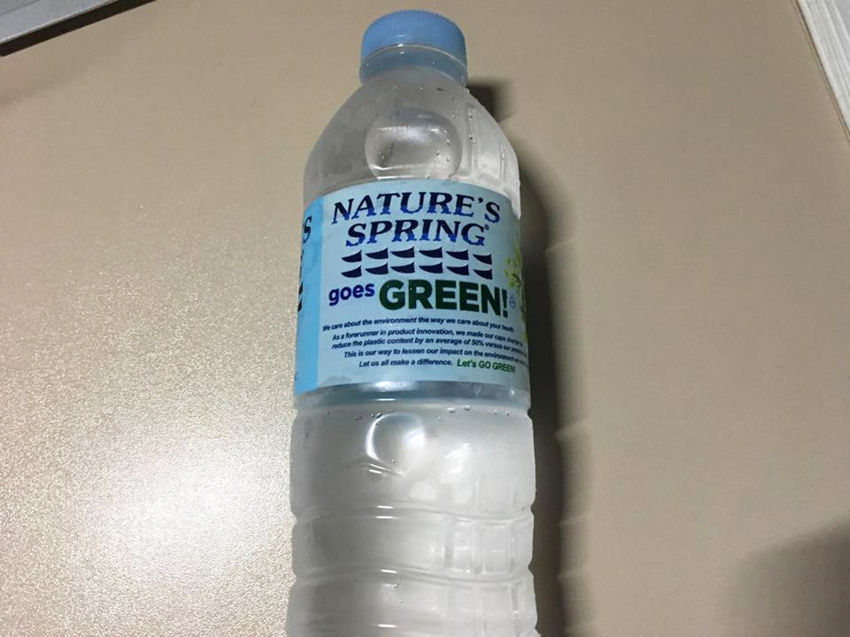 セブ島のセブンイレブンで買ったペットボトル500ml
