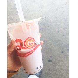 ニューヨークの「COCOFRESH TEA&JUICE」女子から大人気バブルティー421円