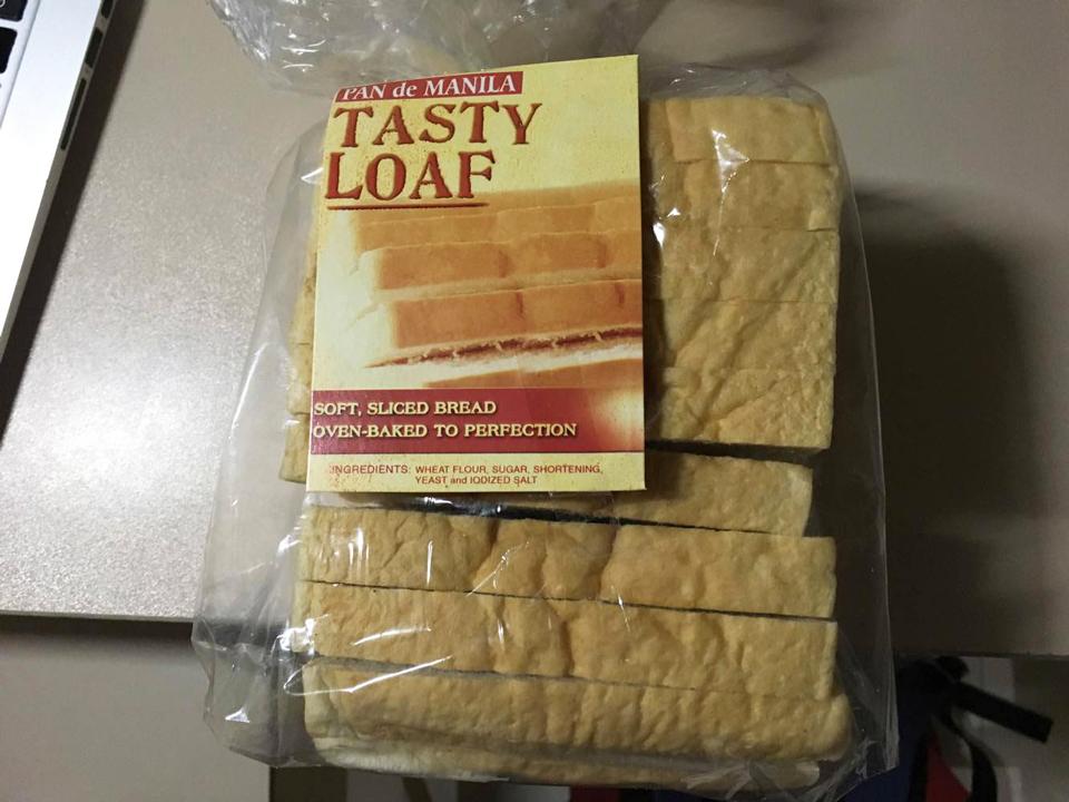 約84円(33ペソ)で売っていたパン