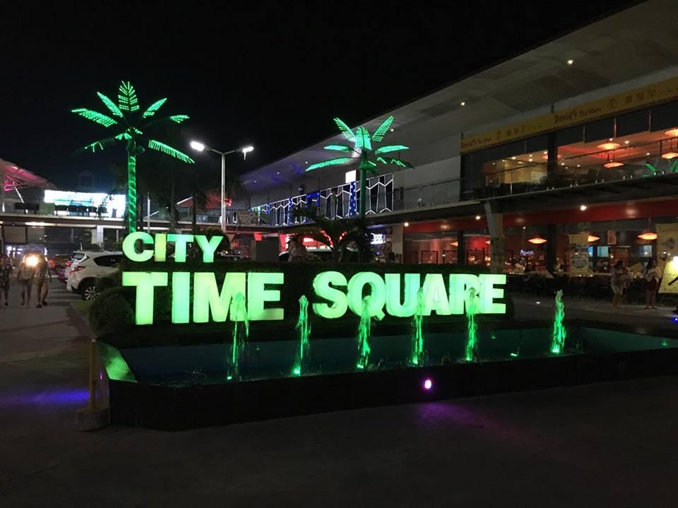 セブ島の中心地、タイムスクエア(Time Square)