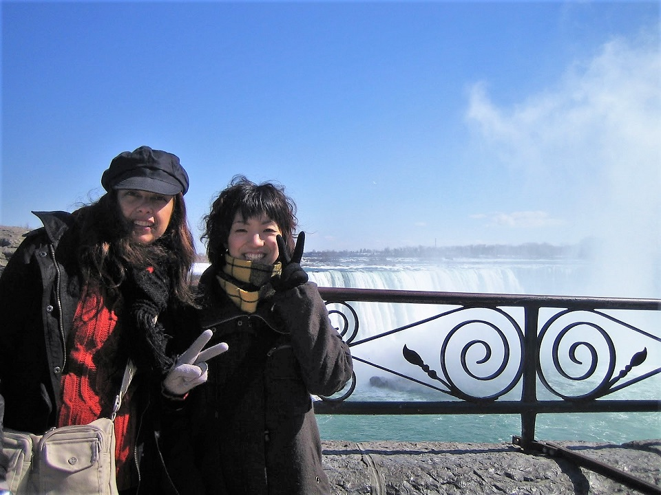 シェアハウスのハウスメイトとナイアガラの滝へ(カナダ)