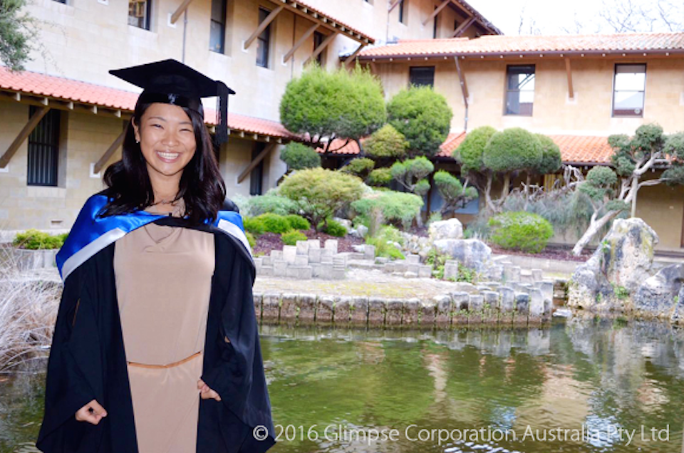 パースに1年11ヶ月、交換留学されていた松本渚さん。