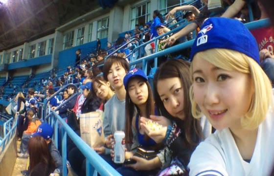 職場の友達とメジャーリーグ観戦