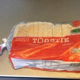 ロンドンの人気スーパーTESCO(テスコ)で買った食パン800g