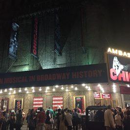 「CHICAGO」の公演劇場!当日は人でいっぱいでした~