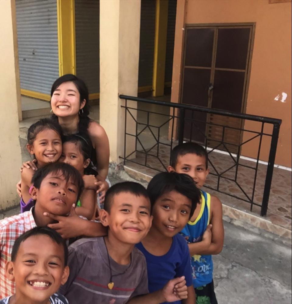 フィリピンのセブ島に2ヶ月語学留学されていた新垣さん
