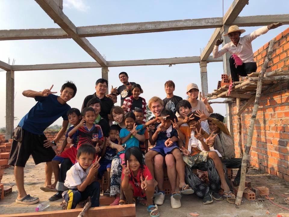 カンボジア 小学校建設