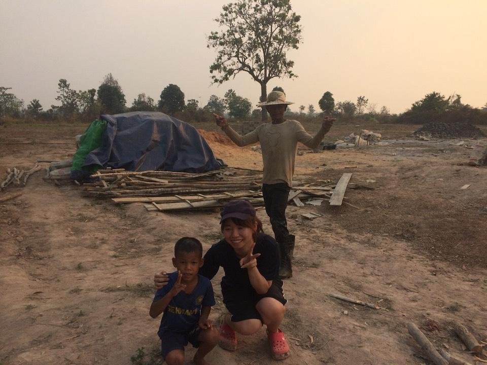 カンボジアの様子