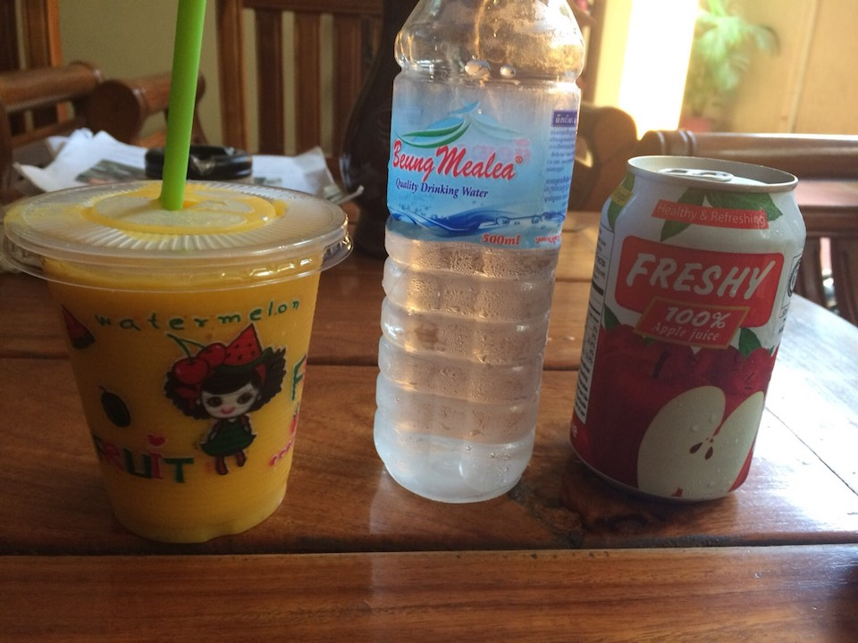 カンボジアの飲み物