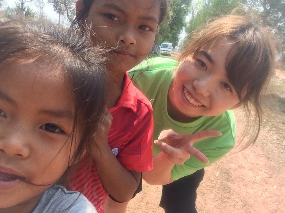 カンボジアに行った 小林優衣さん
