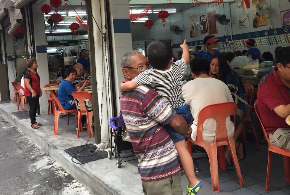 マレーシアのローカルフード屋さん