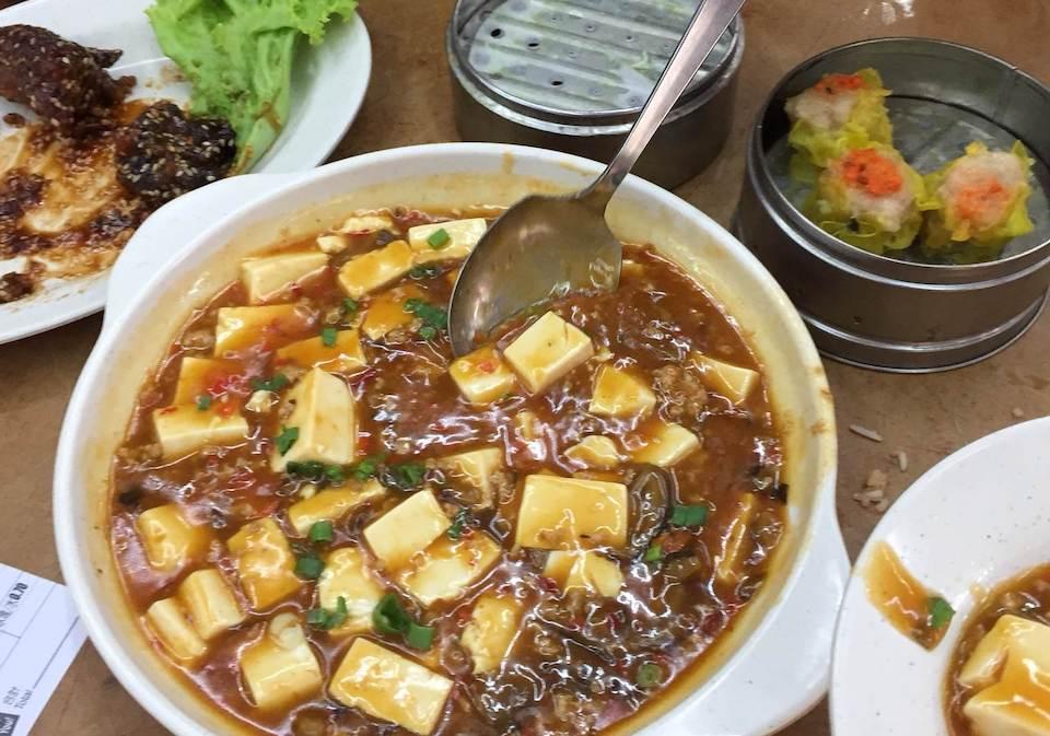 池谷航さんが食べていた中華料理