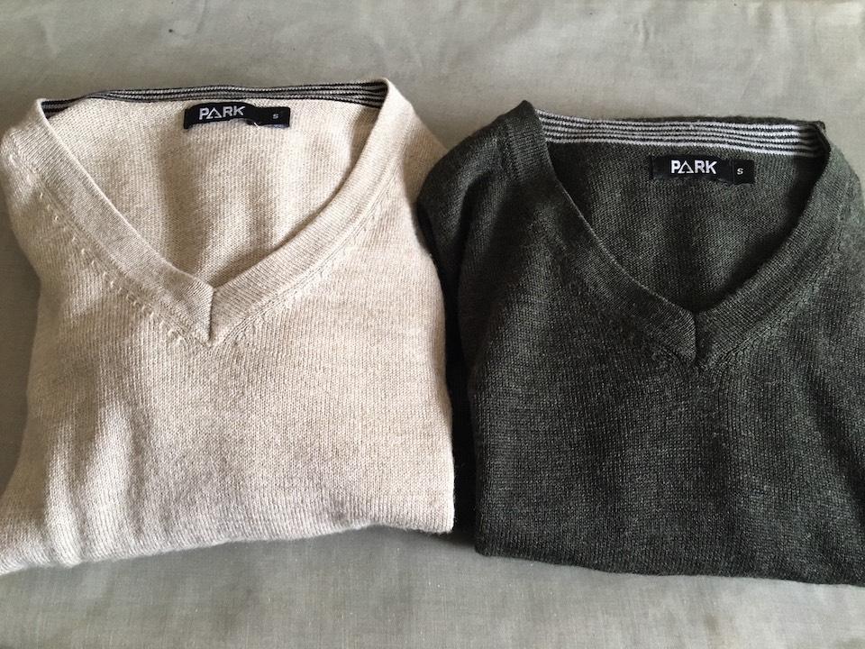 祐京さんが購入したセーター