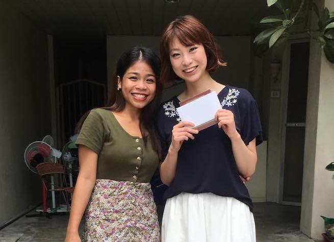 泉美さんと語学留学先の先生